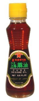 Kadoya Brand 100% Pure Sesame Oil 5.5oz Pack of 3