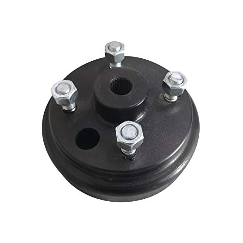 No. 1 accessories 19186-G1 Brake Drum/Hub Assembly (Electric) for EZGO TXT Golf Carts (One Piece)