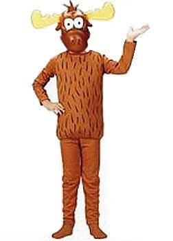 [Bullwinkle of Rocky and Bullwinkle Costume Child Size S Small 4-6] (Rocky Bullwinkle Costume)