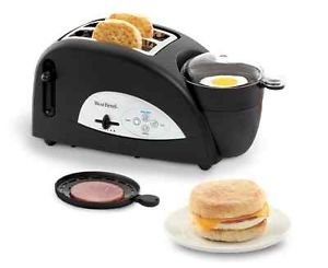 Brand NEW West Bend Muffin Egg Toaster Meat Tray Cooking Machine Sandwich Breakfast Family by NMC Shop
