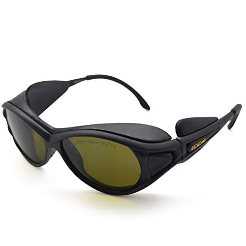 OD4+ 190-450nm & 800-2000nm Laser Protective Goggles Glasses CE Eaglepair EP-5-9