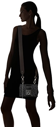 Mono Bag Flap Small Black Klein Cross Block Women's Crossbody Black Jeans Body Mono Black Calvin Oq4Hxw