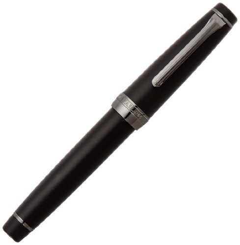 Sailor Fountain Pen Professional Gear Imperial Black Middle φ18×129mm 113028420 by Sailor Pen