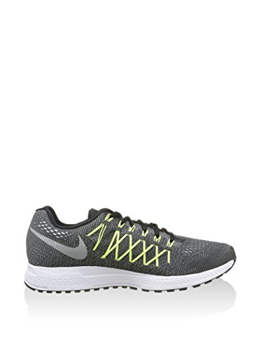 Nike Air Zoom Pegasus 32 CP, Zapatillas de Running para Hombre Negro / Blanco / Lima (Black / White-Volt)
