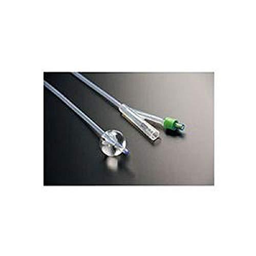 2-Way 100% Silicone Foley Catheter 6 FR 3 cc. Sterile. - 1 Each