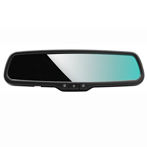 AUTOWINGS Auto-dimming Car Interior Rear View Mirror