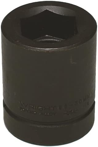 Wright Tool 8830 15//16-Inch with 1-Inch Drive 6 Point Standard Impact Socket