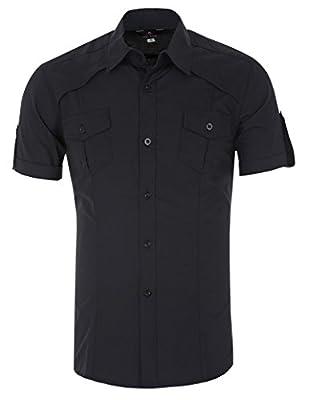 Paul Jones Fashion Designer Dress Shirts Men Stylish Short Sleeve CL4404