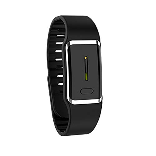 Anti-Mosquito Bracelet, Reusable Smart Ultrasonic Electronic Mosquito Repellent Wristband Safe for Kids, Adult and Pregnant, Great for Summer Camp Swimming Hiking Biking Outdoor Activities(Black)