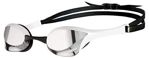 ARENA Gafas Cobra Ultra Swipe Mirror Natación, Unisex niños, Silver/White, Talla Única