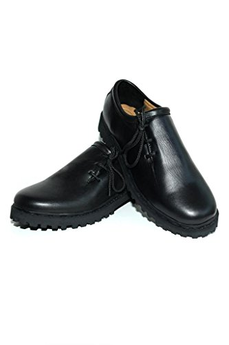 Original-Bavarian-Haferl-shoes-black-smooth-leather