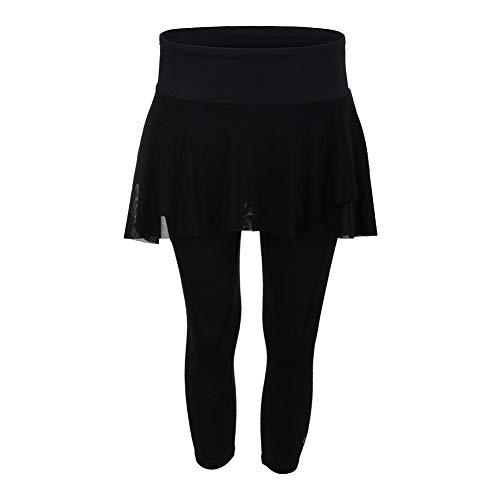 Eleven by Venus Williams Women's Epiphany Outskirt Capri Pants Black X-Large 21 - Atp Pant