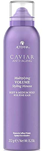 Alterna Caviar Anti-Aging Thick & Full Volume Mousse for Unisex, 8.2 Ounce