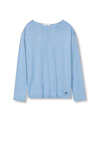 edc by Esprit 126cc1i015, Suéter para Mujer Azul (Light Blue)