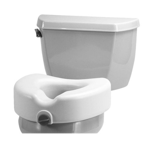 Raised Toilet Seat with Detachable Arms by Nova