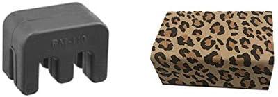 Student Viola Practice Bundle Black Petite Practice Mute w//Cheetah Rad Rosin Light Large