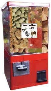 Tierfutterautomat Automat XXL Goliath für Fischfutter Wildfutter Ziegenfutter Pferdefutter Kamelfutter usw.