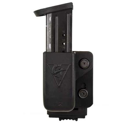 Comp-Tac Push Lock Magazine Pouch (Single) - Size # 12 Left Side Carry (Right Hand Shooter)