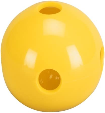 Total Control Sports Hole Ball Pack of 48 , Yellow