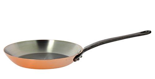 INOCUIVRE Copper Stainless Steel Fry Pan 12.5-Inch by De Buyer
