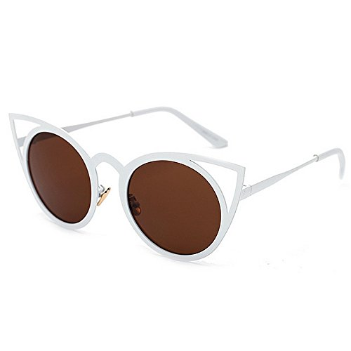 Gu Gafas Playa Mujer de Graceful UV Conducir Eyes Vacaciones de Verano Cat Sol C4 para Peggy protección dZBUqd