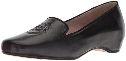 Taryn Rose Mujeres Belissa Loafer Flat Black