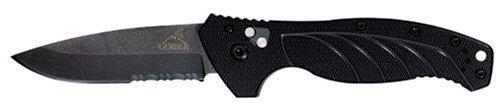 - Gerber 22-07158 Emerson Alliance Folding Knife, Black