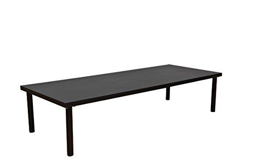 フリーローテーブル150×60cmブラック(TZ-1560BK) B005LT0JFQ