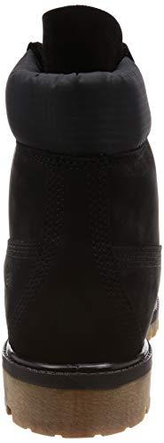 Grape Black Timberland Botin Fabric Per Nubuck orange Uomo Premium BBqapE