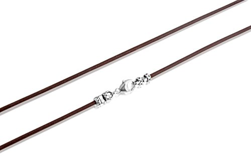 genuine-brown-leather-2mm-cord-with-sterling-silver-lobster-clasps-necklace-or-wrap-bracelet-18-inch