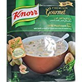 Knorr Cream of Wild Mushroom Soup with Garlic,a touch of Chives and a hint of roasted Onion 54GM /1.9 Oz (Cream of Mushroom Soup with Garlic, 6X1.9OZ/54GM) (Knorr Mushroom Soup)