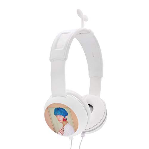 Fanstown BTS Bangtan Kpop Headphone Heatset Earphone Hi-Fi Stereo Headphone Little Straw Shape Decor Map of The Soul: Persona with Pendant