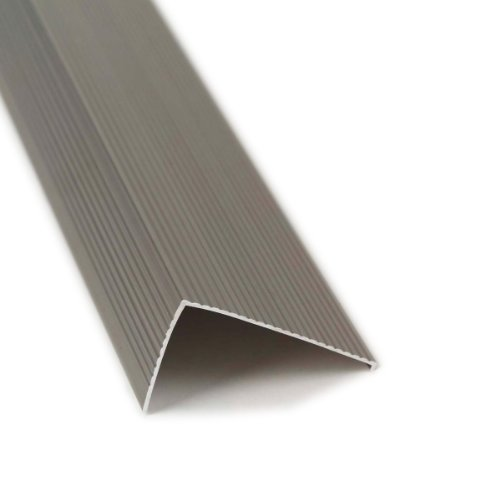Nosing Stair - M-D Building Products 25744 M-D Ultra Sill Nosing, 36 In L X 2-3/4 In W X 1-1/2 In H quot quot, Satin Nickel