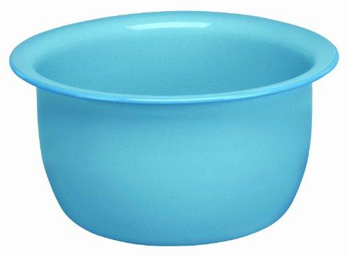 Cinsa 312065 Trend Ware Enamel on Steel Salad Bowl, 3-Quart, Arctic Blue