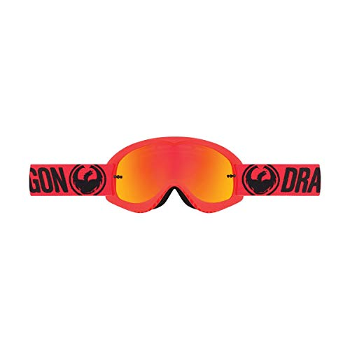 Dragon Alliance Unisex-Adult Youth Mx Goggle Break Red/Ion Lens One Size (Dragon Mx Goggles)