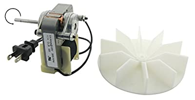 Electric Motors C01575 Universal Bathroom Fan Replacement Electric Motor Kit with Fan, 120 volts