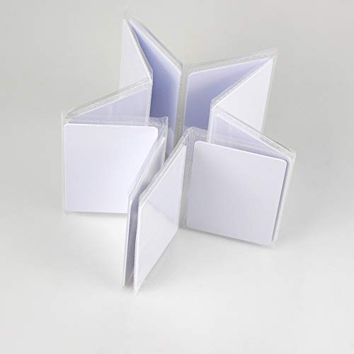 OBO HANDS RFID 125KHZ Em4305 White Cards Writable Rewrite Cards (20) by OBO HANDS