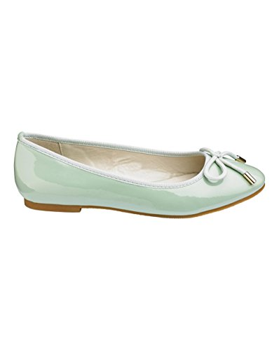 Simply Be Womens Heavenly Soles Ballerina Shoes Mint URUr2lK6