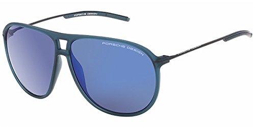 b5c7d9433866 Porsche Design Men s P8635 P 8635 Square Sunglasses 66mm - Buy Online in UAE.
