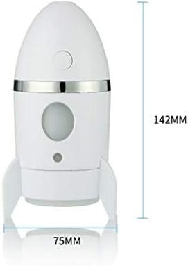 YWSZJ Rocket umidificatore Colorful Night Light Diffusore purificatore atomizzatore Olio Essenziale De Aroma