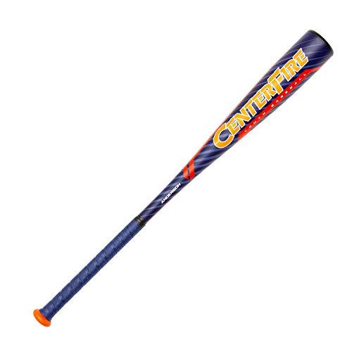 2019 Anderson Centerfire (-10) - Balón de béisbol Juvenil (USABAT), Anaranjado/Azul Marino, 27 Inch / 17 oz.