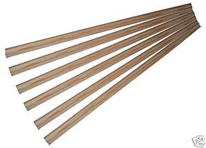 6 Wooden Laths for Clothes Airer AGA Kit 1.5m long OriginalForgery