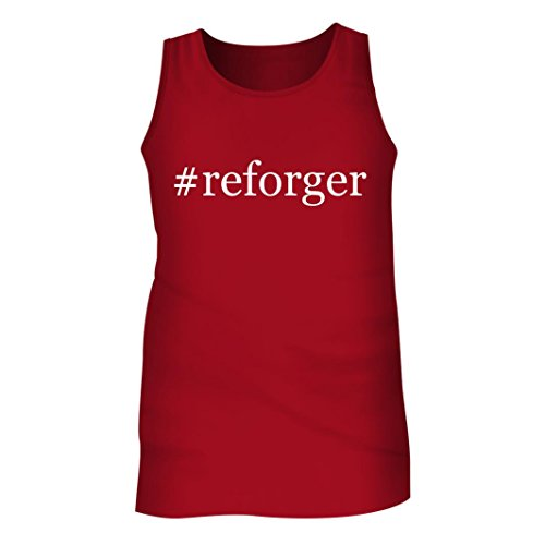 Tracy Gifts #reforger - Men's Hashtag Adult Tank Top, Red, - Deck Box Draft