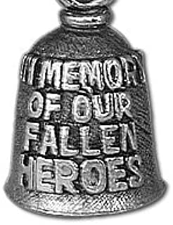 product image for Hot Leathers BEA1063 Silver Fallen Heros Guardian Bell