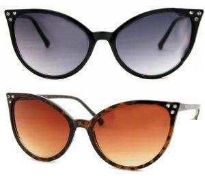 Cat-Eye-Jackie-O-Rhinestone-60s-Sunglasses-Cateye