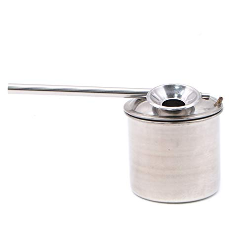 JETEHO 200ML Glazing Pot Stainless Steel Paint Glazes Spray Painting Sprayer Metal Atomizer Painting Tools