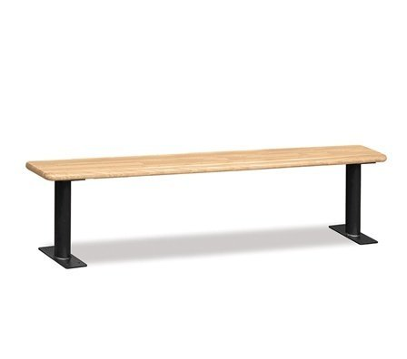 Salsbury Industries Wood Locker Benches, 84-Inch, Light Finish by Salsbury Industries