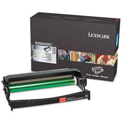 (LEXMARK International E250X22G E250X22G Photoconductor Kit, Black)