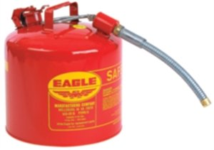 Type II Safety Can, Red, 15-7/8 In. H by Eagle