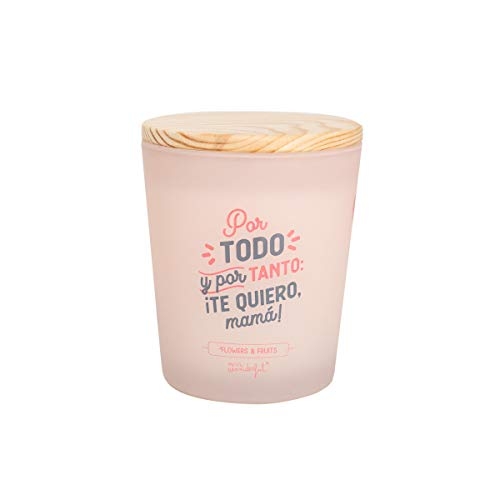 Mr Wonderful WOA10115ES Vela - Por Todo y Por Tanto ¡Te Quiero, Mama!